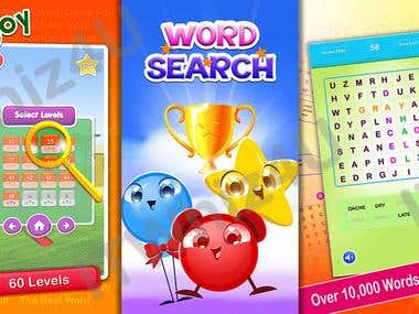 Word Search for Kids and Adults