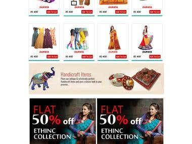 Online Shopping Website (E-Commerce).