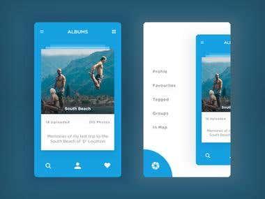 Gellary Android app