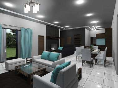 3D Modelling + Architectural Design + Interior Design