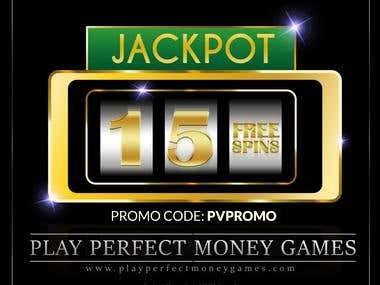 Marketing Material for an Online Casino