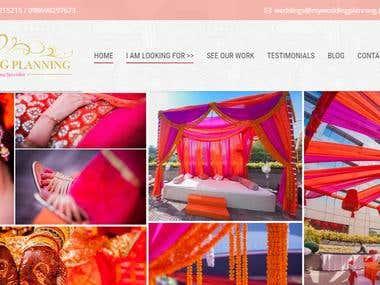 Wedding and matrimonial platform
