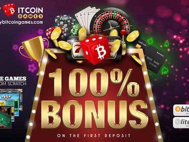 Marketing Material for Online Casino