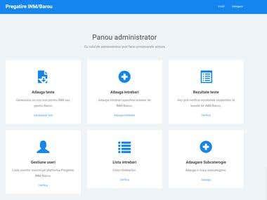 Online Training Platform - Laravel