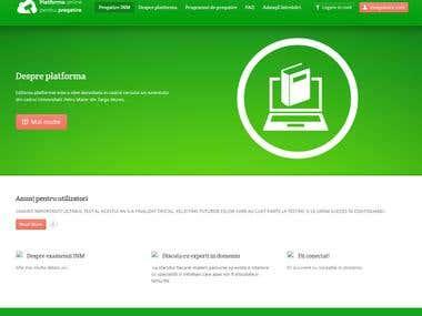 Online Training Platform - Wordpress