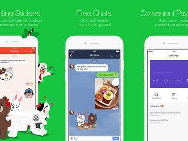 Line(Chatting App)