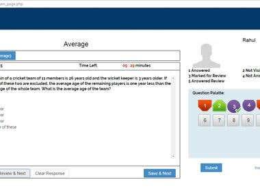 Xcent Exam Portal