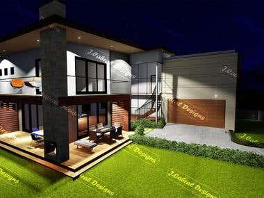 3D exterior render