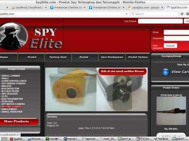 spyelite.com - e-commerce (online stores)