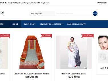 ladynbeauty (Online Shopping Website)