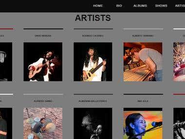 Music Store Portal - www.store.dauromonte.com