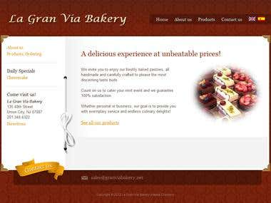 Bakery E-Commerce Website