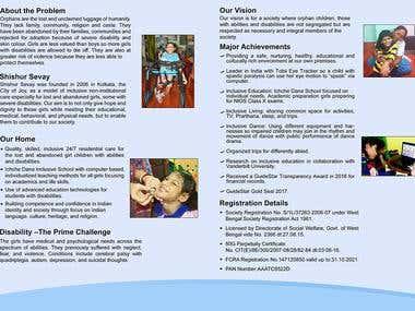 Brochure Design - Front