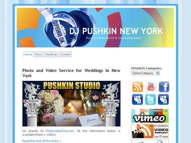 DJ Pushkin Blog