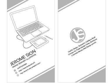Calling Card Design Sample