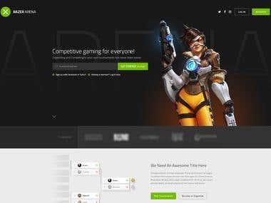 Razer Arena -- Esports Gaming Platform and Infrastructure