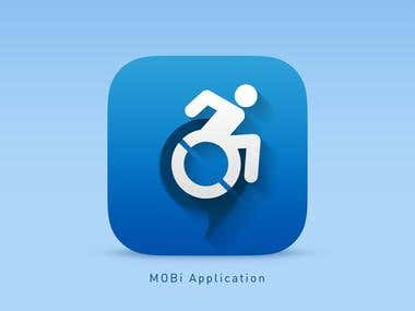 Design an App Icon for a Disabled Persons Parking