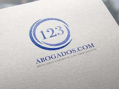 123abogados.com - Logo
