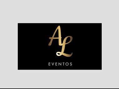 AL Eventos - Diseño de Logo y tarjetas de presentación