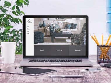 EQ HOME - Diseño de sitio web