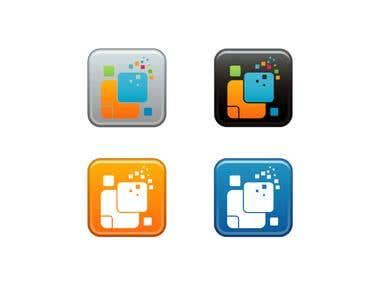Hubbit Mobile Apps Logo Design