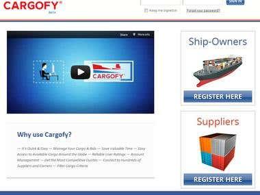 Cargofy.com - Find Cargo/Carrier Portal