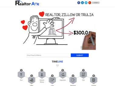 http://www.realtoraxe.com/ - Wordpress website
