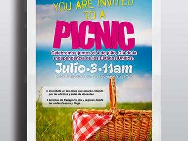 Poster picnic day