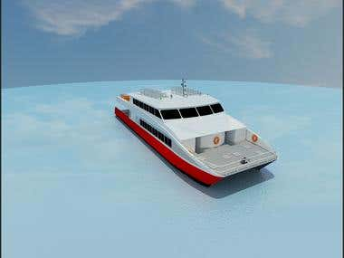 3D boat modelling