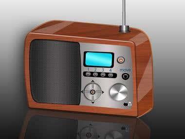 my icon of radio
