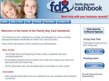 Online cashbook