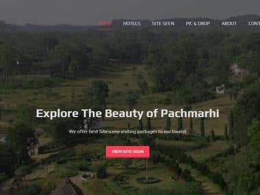 ( www.hotelsinpachmarhi.co ) Hotel booking website.