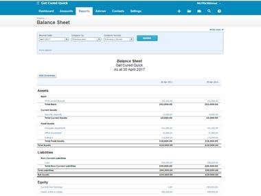 My Xero work for clients