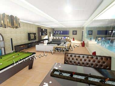 Interior Design - Fun basement