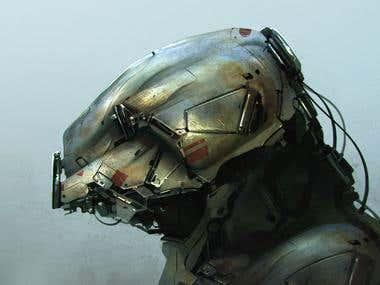 Robot Bust