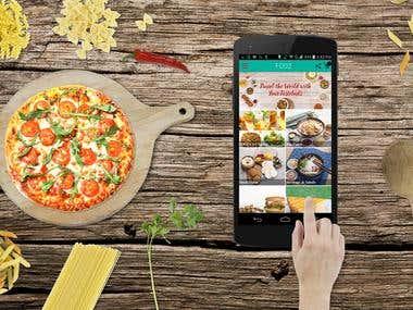 Foozy: online food order app