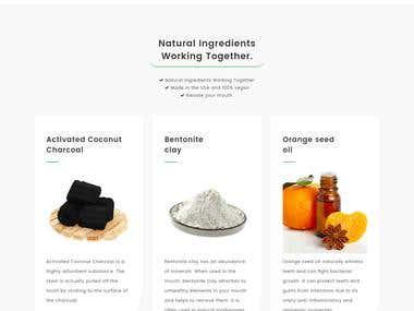 Landing Page Design in WordPress