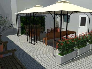 Projeto executado - Área de estar - Lapa-SP
