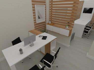 Sala diretoria de uma clínica estética - Ipiranga-SP