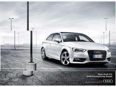 Audi A3 Campaign