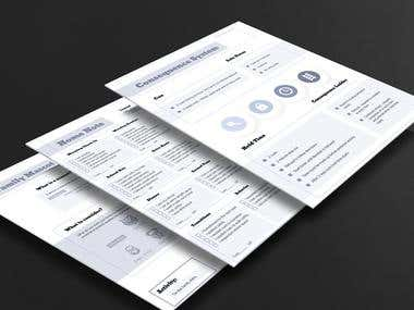 Worksheets and Documents Design