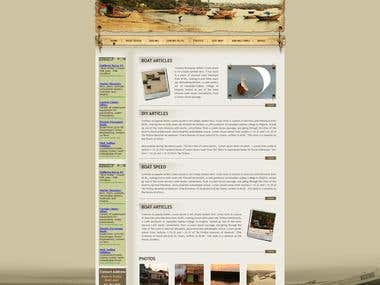 Web 2.0 skin and container, Site development, ML