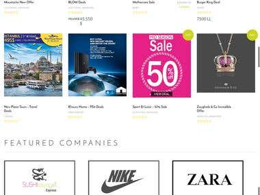 wordpress shopping deals site