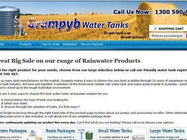 Grumpyb Water Tank