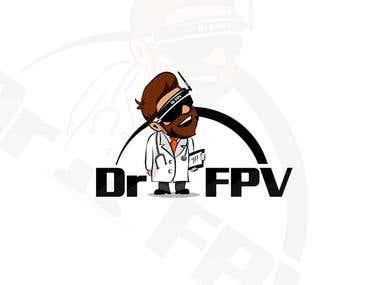 Dr FPV LOGO DESIGN