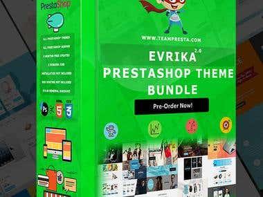 Prestashop Evrika Theme Pack