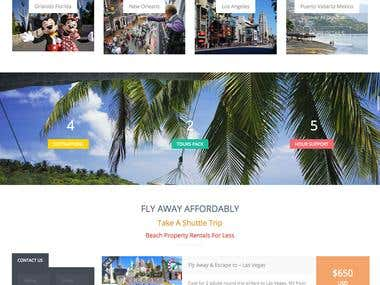 wordpress ecommerce travel agency