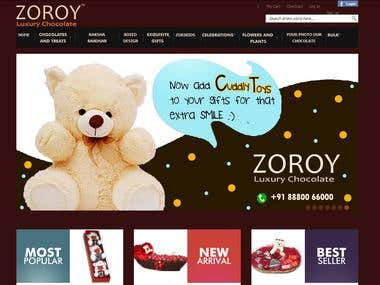ZOROY-Online Shopping Of Chocolates