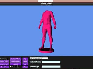 3d Scanning with Kinect v2