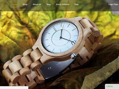 Woocommerce website ( http://tsarwatches.com/ )